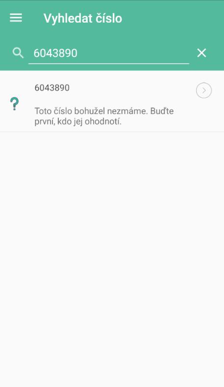 Telefónne číslo nebolo nájdené
